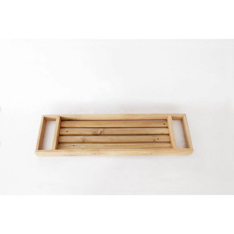 1 Charming Wooden Bath Caddy Reclaim