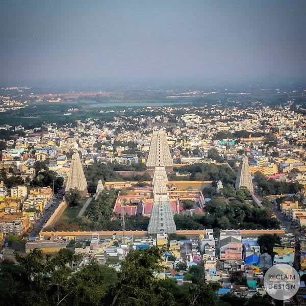 Arunachaleshwar Temple India | Reclaim Design
