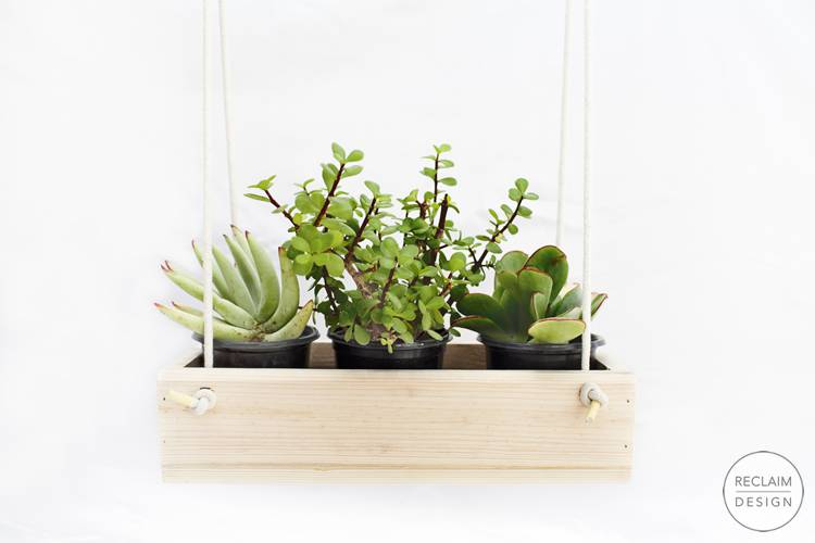Buy Sustainable Planters Made From Reclaimed Wood | Reclaim Design