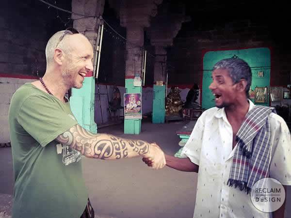 Michael in Tiruvannamalai India | Reclaim Design