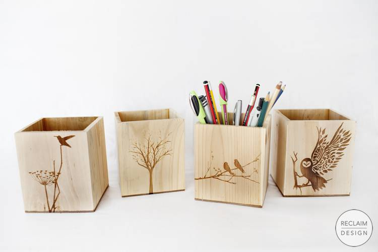 Sustainable Boxes Made From Reclaimed Wood | Reclaim Design