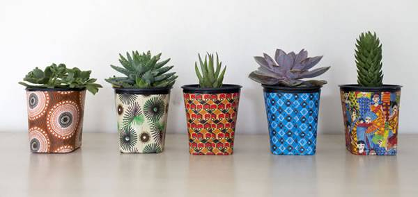 Recycled Fabric Pots | Reclaim Design