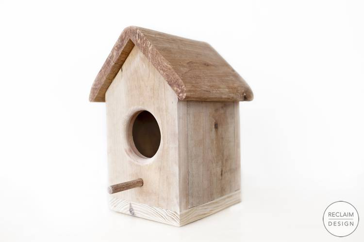 Sustainable Bird House Made From Reclaimed Wood | Reclaim Design