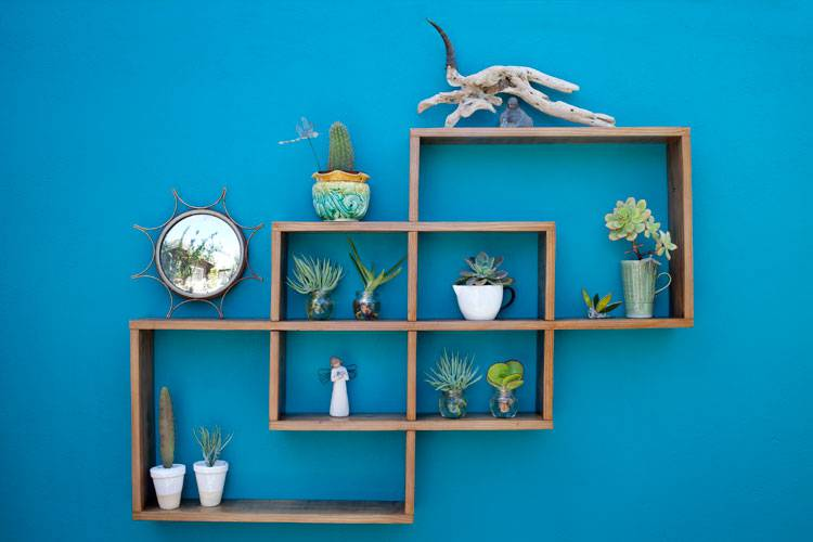 Sustainable Shelving Made From Reclaimed Wood | Reclaim Design