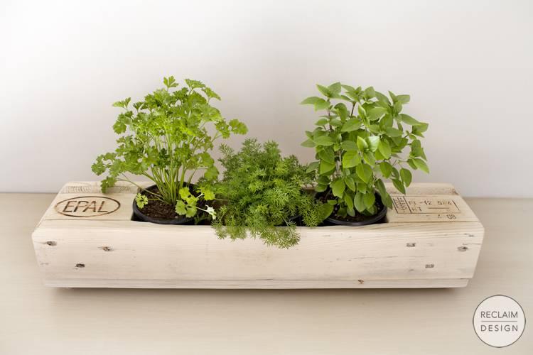 Sustainable pallet planters | Reclaim Design