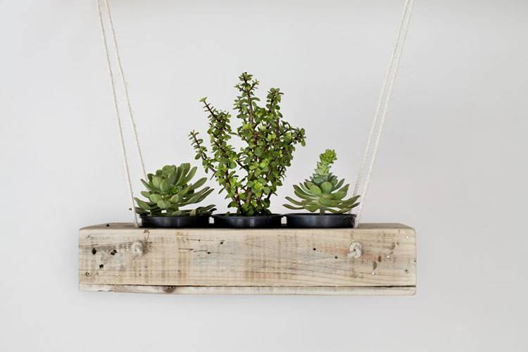 Sustainable planter made from reclaimed wood | Reclaim Design
