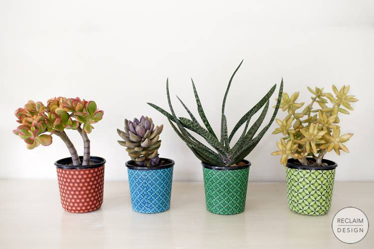 Sustainable Fabric Pots Made From Recycled Plastic | Reclaim Design